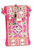 Ethnics (Etm013) Women's Handbag -Pink