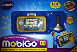Vtech MobiGoTouch Learning System With Bonus Car Adaptor & Free Downloadable Games!