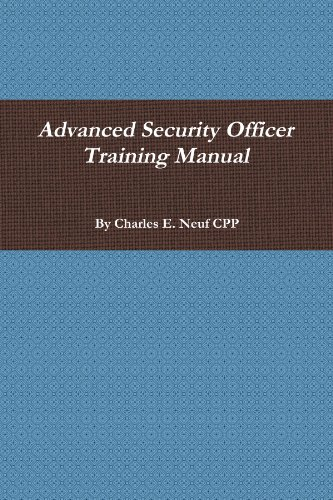 Advanced Security Officer Training Manual