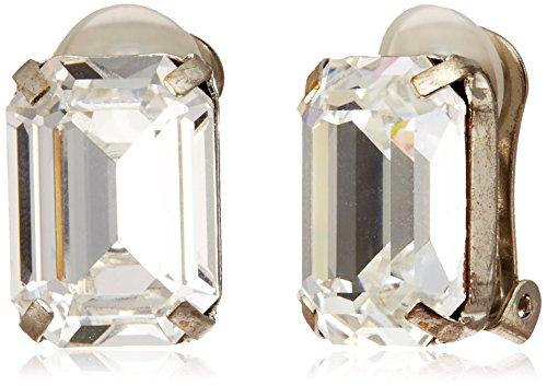 [IMac] imac Bijou earrings with Rhinestone square silver - 0 - clear PM 098530