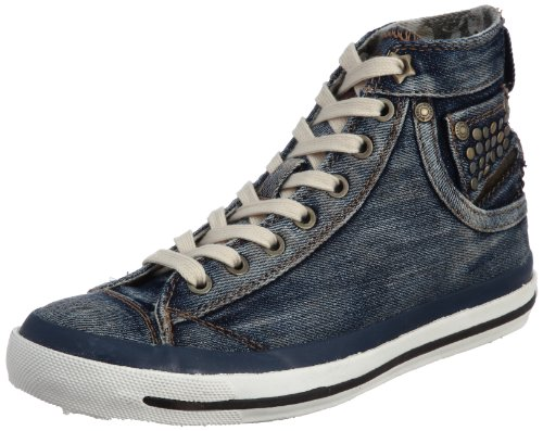 Diesel Women's Exposure Iv W Dust Y Blue Lace Up Trainer Y00061Ps462T6178 4 UK