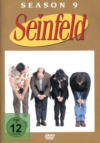 DVD * SEINFELD SEASON 9 [IMPORT ALLEMAND] (IMPORT)  (COFFRET DE 4 DVD)