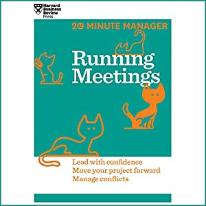 Running Meetings Audiobook by  Harvard Business Review Narrated by James Edward Thomas