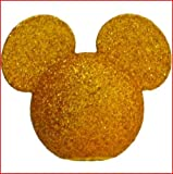 Disney - Mickey Mouse - Gold Glitter Mickey Head Antenna Topper