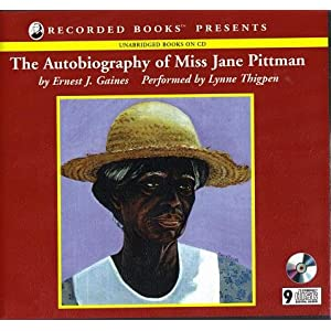 the autobiography of miss jane pittman  kit  paperback book  audio cds