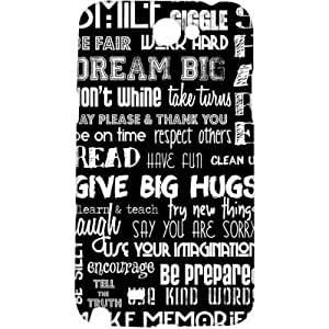 Crackndeal 82QUOCNOTE2 Back cover for Samsung Galaxy Note 2, (Multi-coloured)