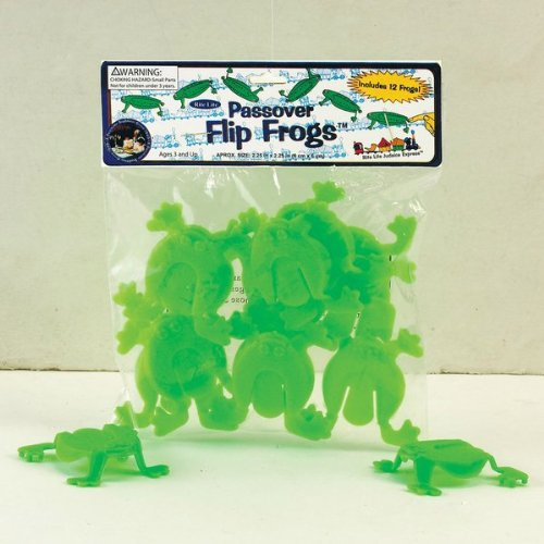 Rite Lite Passover Flip Frogs pack of 8