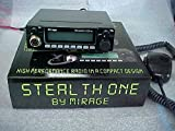 Mirage Stealth One 10 Meter Mobile Ham Amateur Radio Transceiver w/ Freq Display