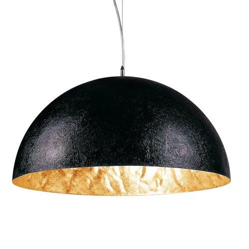 s`luce Blister Pendelleuchte 5xE27, Ø120cm, schwarz/goldfarben 4915-5A 120 GD