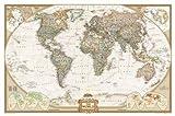 img - for World Executive, Laminated: Wall Map   [MAP-WORLD EXECUTIVE LAMINATED] [Other] book / textbook / text book