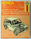 img - for Honda 360, 600 and Z Coupe Owners Workshop Manual, 1967-1975 (Haynes Owner Workshop Manual, 138) book / textbook / text book