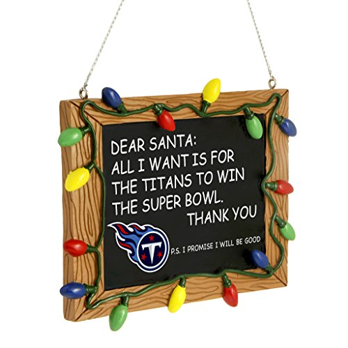 Tennessee Titans Chalkboard Ornament at Steeler Mania