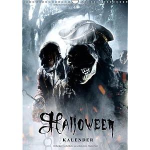 Halloween Optische Horror Illusionen - Kalender 2014 (Wandkalender 2014 DIN A3 hoch): Die Halloween-