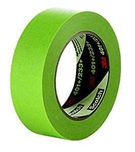 Amazon.com: 3M 401+ Green Masking/Painter's Tape, 12 mm, 64759 (T933401): Office Products