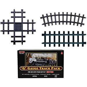 Set of 13 'G' Gauge Christmas Train Track Pack For Use With Eztec Train Sets
