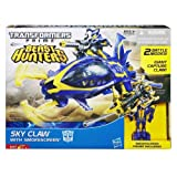 Sky Claw with Smokescreen Transformers Prime Beast Hunters CV Commander Figure