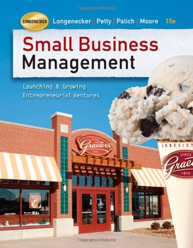 Small Business Management: Launching and Growing...