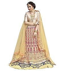Silvermoon women's Net Embroidered heavy lehenga choli-sm_smGLFA5301_Pink_free size