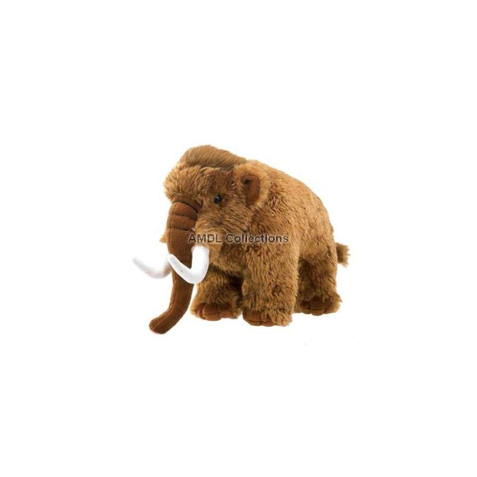 Domestic Animals Wooly Mammoth 11 Plush Stuffed Animal Toy On Popscreen