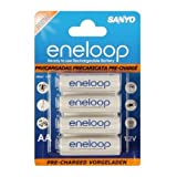 Sanyo HR-3UTG-8BP 8 Batteries Eneloop Type AApar Sanyo