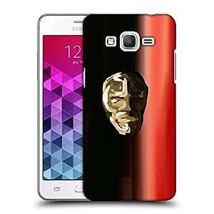 Snoogg Crystal Mask Designer Protective Back Case Cover For Samsung Grand Prime G5306W