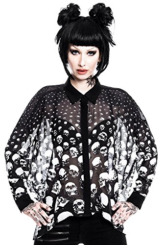 killstar-bluse-scully-chiffon-shirt-schwarz-s