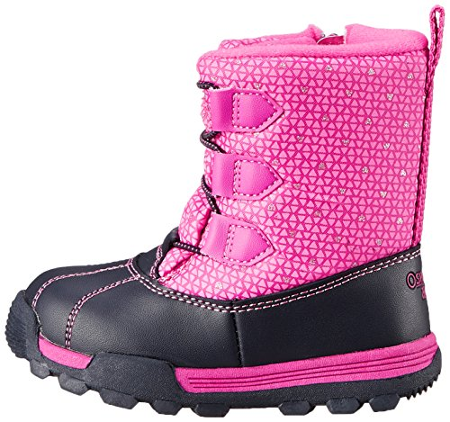 OshKosh B'Gosh Polar G Winter Boot (Toddler/Little Kid), Navy/Pink, 10 M US Toddler