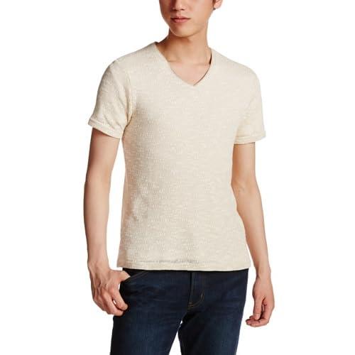(ビーノ)BENO スラブ杢Tシャツ 420S8433 02 ホワイト L