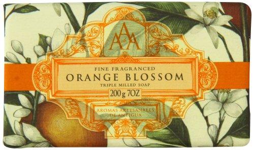 aromas-artisanales-de-antigua-floral-orange-blossom-soap-200g