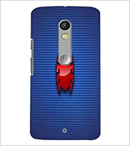 PrintDhaba Pattern D-1844 Back Case Cover for MOTOROLA MOTO X PLAY (Multi-Coloured)