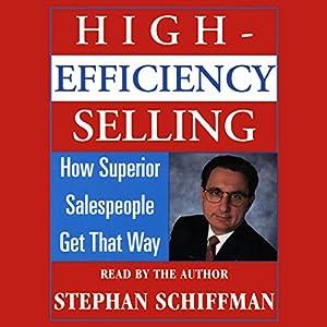 High Efficiency Selling Audiobook