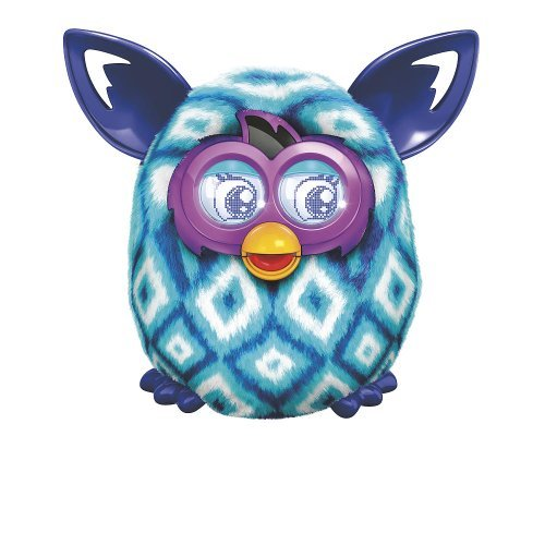 Furby Boom Plush Toy - Blue Diamonds