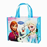 Disney Frozen Reusable Lesson Bag For Kids Blue. H 9.6 x L 13x W 4