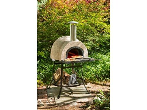 "Rustic Wood Fired Oven (Natural) (6'2""H X 3'1""W X 3'2""D)"