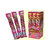 Millions Tubes Blackcurrant Buzz Flavour - 12 Pack
