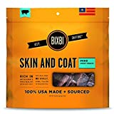 BIXBI USA MADE Skin and Coar Dogs Jerky Treats Chews PORK Dogs 15oz Bag