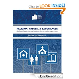 Logo for Religion, Values, and Experiences: Black and Hispanic American Attitudes on Abortion and Reproductive Issues