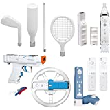 dreamGEAR Nintendo Wii 15-in-1 Player's Kit Plus (white)