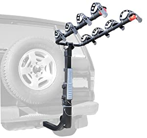 Allen Sports Premier Hitch Mounted 4-Bike Carrier for Vehicles with External Spare... by Allen Sports