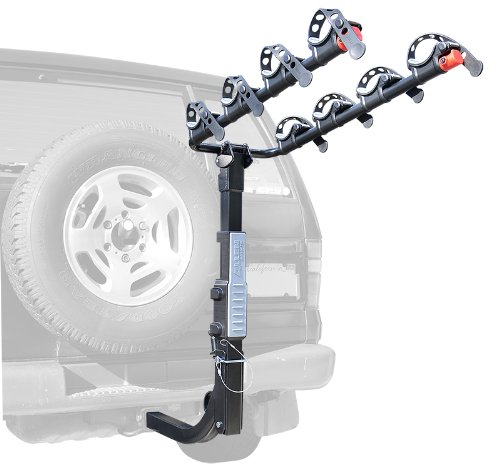 Allen Sports Premier Hitch Mounted 4-Bike Carrier For Vehicles With External Spare Tires front-441745