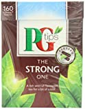 PG Tips The Strong One Pyramid Teabags (Pack of 4, Total 640 Teabags)