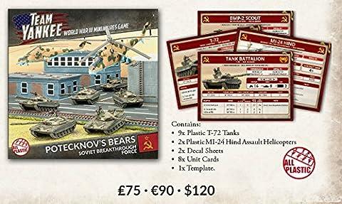Team Yankee Soviet Potecknovs Bears (Plastic Army Deal) - Mi 24 Hind Helicopter