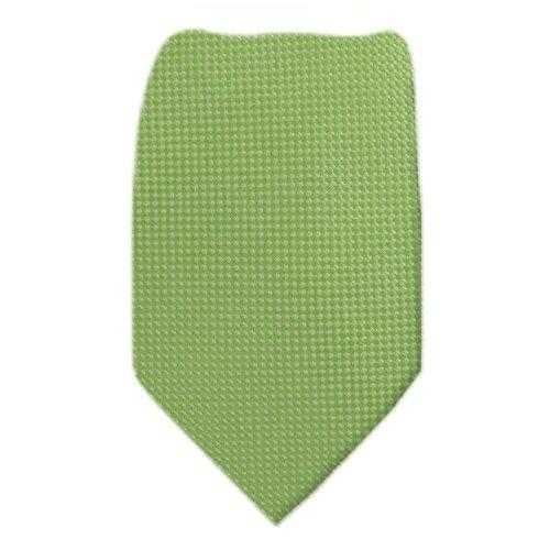 B-10440 - Green Boys Silk Fashion Tie