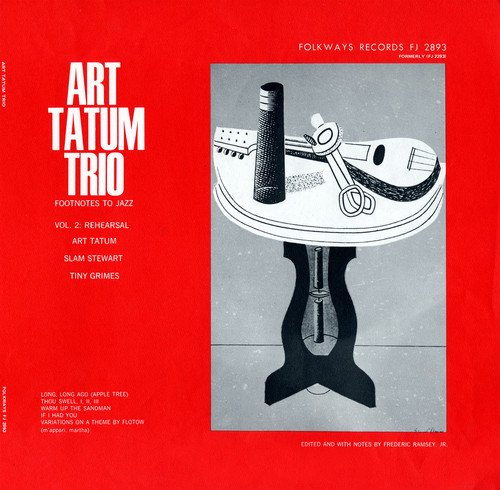 CD : ART TATUM - Footnotes To Jazz, Vol. 2: Jazz Rehearsal, Ii