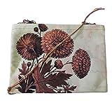 Leaf Designs Vintage Floral Sling Bag