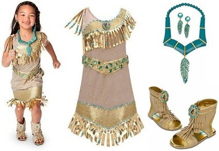 Disney Princess Costumes Disney Store Deluxe Princess Pocahontas Costume For Girls Including Dress (Size M Medium 7 8) Matching Shoes (Size 13 1 Sandals) ...  sc 1 st  hpuebns & Disney Princess Costumes Disney Store Deluxe Princess Pocahontas ...