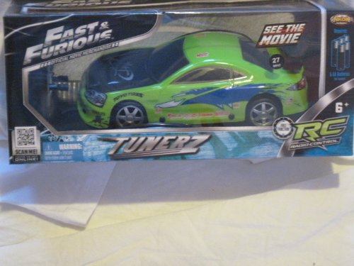 Review: Fast & Furious - Lime Green Tunerz - Radio Control Car & Controller