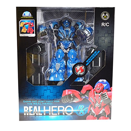 CIS Blue 9 Inch Tall Fighting Robot, With IR Controller