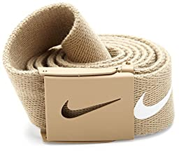 Nike Mens Tech Essential Belt, Tan, One Size