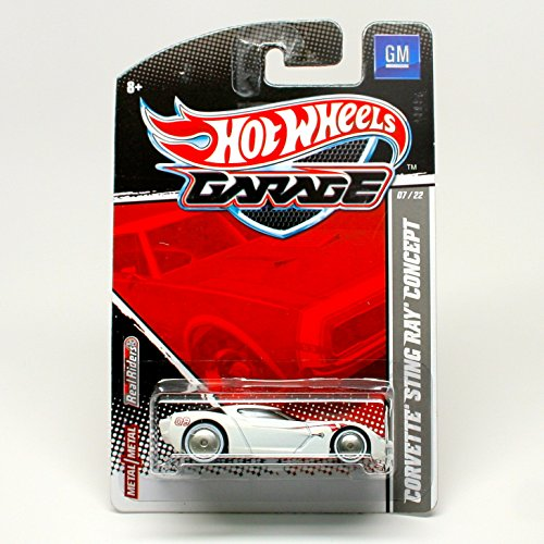 Hot Wheels Garage Corvette Sting Ray Concept - 1